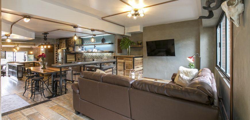 Apartamento amoblado en el Poblado Medellín sector Castropol 201
