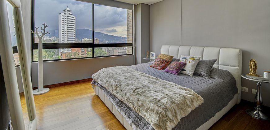 Apartamento en el Poblado en la ciudad de Medellín